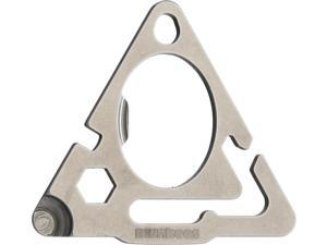 Munkees MUNK2505 Stainless Steel Triangle Tool w/Guyline Adjuster
