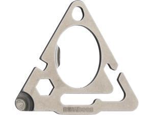 Munkees MUNK2505 Stainless Steel Triangle Tool w/Guyline Adjuster