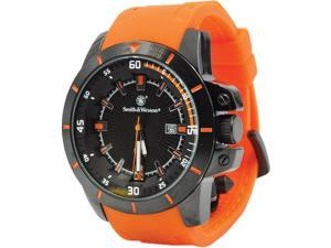 Smith & Wesson SWW397OR Trooper Watch w/47 x 13mm Face Orange