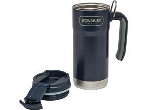 Stanley STA01903 Adventure Vacuum Travel Mug 16oz w/Double Wall Black