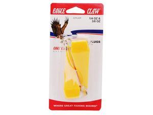 Eagle Claw ACPLUGP 2 Piece Spincasting / Spinning Practice Plugs Fishing