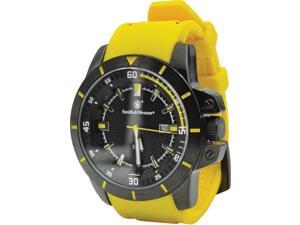 Smith & Wesson SWW397YW Trooper Watch w/47 x 13mm Face Yellow