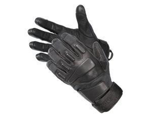Blackhawk 8114MDBK HellStorm SOLAG Gloves With Kevlar Black Full Finger Medium