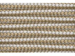 Shoreline Marine Double Braided Nylon Dock Line, Gold/White, 1/2-Inch x 25-Feet 075826