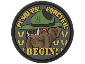 "Maxpedition PVC PATCH:DVDGS Devil Dog Morale Patch 2.16""x2.16"" SWAT"