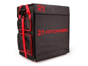 Atomik 2007RE Transporter Race Case Hauler Bag Fits Traxxas Losi RC Buggy- Red/Black
