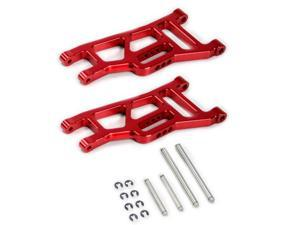 Traxxas Stampede 1:10 Alloy Front Lower Arm, Red by Atomik - Replaces TRX 3631 | Part No. TST24125R