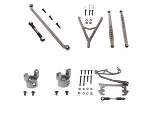 Axial SCX10 Ultimate Alloy Upgrade Kit by Atomik RC - Gun Metal | Part No. SCX10-ULTIMATEKIT-G