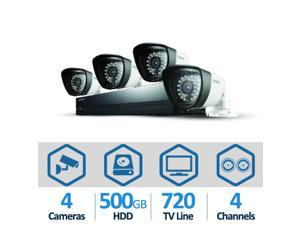 SAMSUNG SDS-P3042 4 Channel H.264 DVR Security System