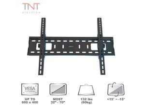 "Atron Vision TV Monitor Wall Mount for most 32"" - 70"" LED LCD Plasma Flat Screen Up To 132 lbs VESA 600 x 400 Tilt Bracket"