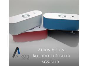 Atron Vision AGS-B110 Bluetooth Portable Wireless Speaker, 3W Speaker Output, Operating Distance 33FT, Playback Time Up to 10 Hrs, Compatible with Apple Iphone, Ipad, Samsung Smartphone, Tablet, PC