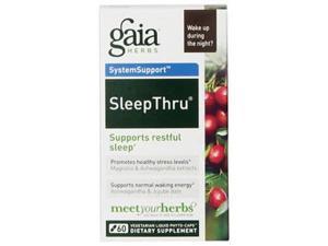 Gaia Herbs SleepThru 60c