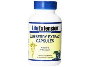 Blueberry Extract (Replaced upc 737870914068 ) - Life Extension - 60 - VegCap