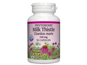 Milk Thistle Phytosome 150mg - Natural Factors - 90 - Capsule