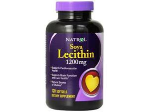 Natrol Soya Lecithin 1200 Mg, 120 gel