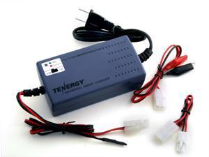 Tenergy Smart Universal Charger for NiMH/NiCD Battery Packs: 7.2V - 12V (UL)