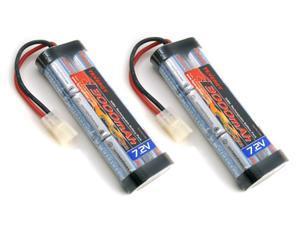 2 Packs: Tenergy 7.2V 3000mAh High Power Flat NiMH Battery Packs w/ Tamiya Connectors for RC Cars