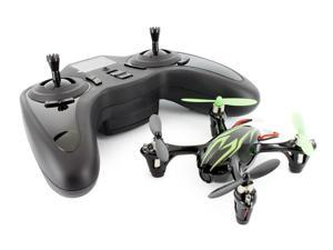 Hubsan X4 (H107C) 4 Channel 2.4GHz RC Quad Copter with Camera - Black/Green