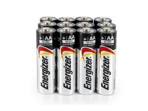 Energizer AA Alkaline Batteries (EN91), 12 pcs