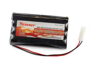 Tenergy 9.6V 2000mAh High Capacity NiMH Battery Pack for Toy RC Cars, Robots, Security Devices