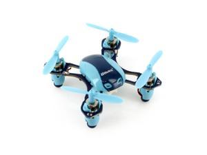 UDI U840 2.4G 6-Channel Nano Quadcopter with Extra Battery - Blue