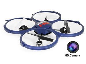 UDI Discovery U818A-1 (2015 The Updated Version) 2.4GHz 4CH RC Quadcopter w/ HD Video Camera & BONUS Battery