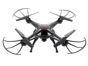 Syma X5SC (2015 The Latest Version) Explorers 2 2.4G 4CH 6-Axis Gyro RC Headless Quadcopter with 2MP 720P HD Camera - Black