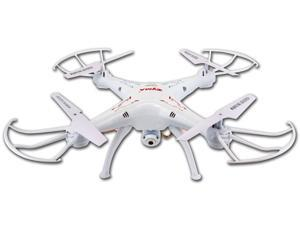 Syma X5SC (2015 The Latest Version) Explorers 2 2.4G 4CH 6-Axis Gyro RC Headless Quadcopter with 2MP 720P HD Camera - White