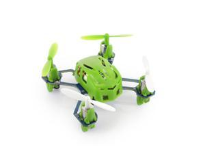 Hubsan Q4 H111 Nano 4-Channel RC Quadcopter with 2.4Ghz Radio System - Green