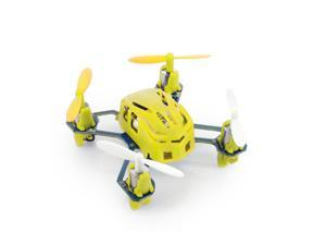 Hubsan Q4 H111 Nano 4-Channel RC Quadcopter with 2.4Ghz Radio System - Yellow