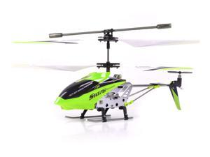 Syma 3 Channel S107 / S107G Mini Indoor Metal Frame Helicopter - Green