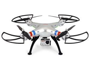 Syma X8G 2.4Ghz 4CH RC Headless RC Quadcopter with 5MP 1080P HD Camera, compatible with GoPro Hero