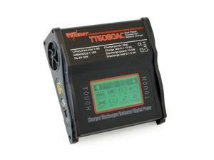 Tenergy TT6080AC 80W AC DC Balance Charger with Touch Screen LCD for NiMH, NiCd, LiPo, Li-ion, LiFePO4, Lead Acid Battery Packs