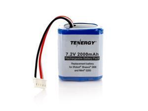 Tenergy 7.2V 2000mAh Replacement Battery for iRobot® Braava® 380t & Mint® 5200
