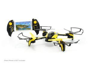 TDR Phoenix WIFI FPV Modular Camera RC Quadcopter with Collision Avoidance and 2.4G 6CH Live Streaming - App Controllable by Smart Devices