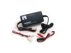 Tenergy Universal Smart Charger for NiMH/NiCD Battery Packs: 6V - 12V (UL)