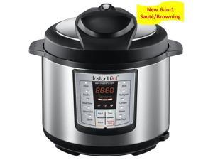 Instant Pot - IP-LUX60 - 6 in 1 Programmable Stainless Steel Electric Pressure Cooker, Multi Cooker, Slow Cooker, Steamer, Crockpot, Rice Cooker with 6 Quarts Capacity