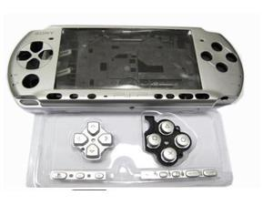 New Silver Complete PSP 2000 Shell