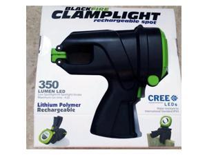 BLACKFIRE BBM930 Rechargeable Spotlight, 350, CREE LED