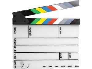 """Pearstone Acrylic Dry Erase Clapboard with Color Sticks (9.25x11"""")"""