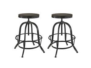 Collect Bar Stool Set of 2 in Black