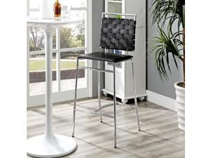 Fuse Bar Stool in Black