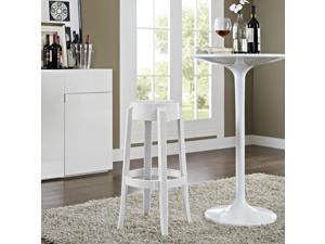 Casper Bar Stool in White