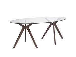 Duet Dining Table in Walnut