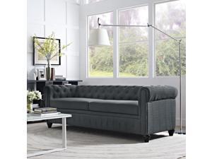 Earl Fabric Sofa in Gray