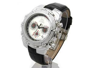 TECHNO MASTER Stainless Steel and Diamond Gent's Chronograph Date Quartz Watch