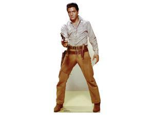 Elvis Gunfighter Lifesized Standup