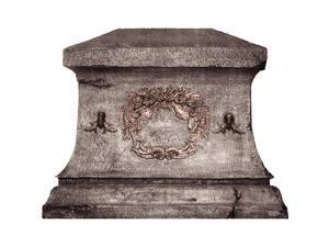 Big Chris Granite Tombstone Lifesized Standup
