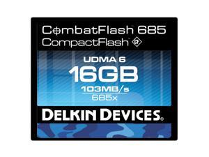 Delkin Devices | DDCFCOMBAT685-16GB | 16GB CombatFlash 685 UDMA 6 Compact Flash Card