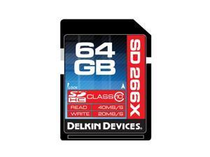 Delkin Devices DDSD266-64GB 64GB SDXC Memory Card